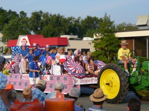 Bridgewater Lawn Party Parade
