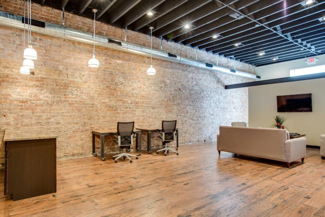 New Downtown office - Exposed Brick Walls