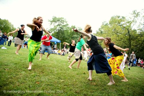Photo by Holly Marcus, The Harrisonburg International Festival, 2008