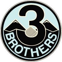 3 bros logo
