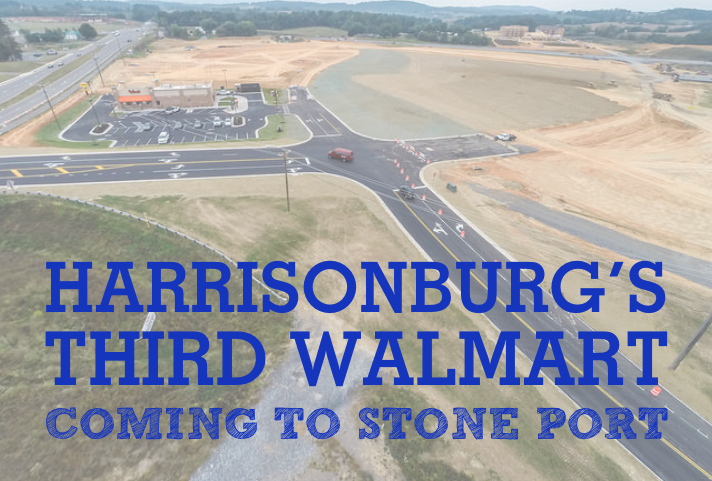 Harrisonburg's Third Walmart Coming to Stone Port