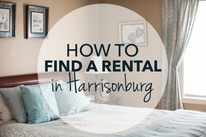 How to find a rental in Harrisonburg