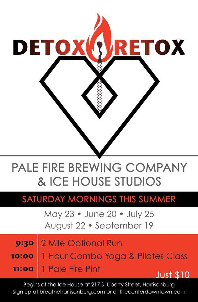 Detox Retox with Breathe & Pale Fire Summer 2015
