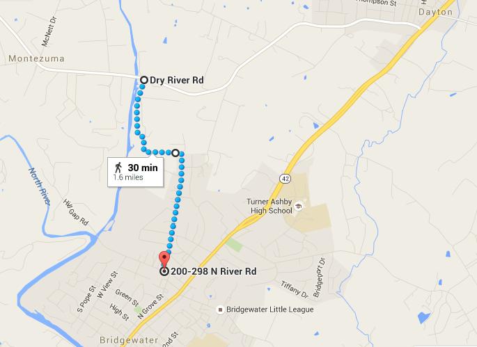 Dry River Road, Bridgewater, VA