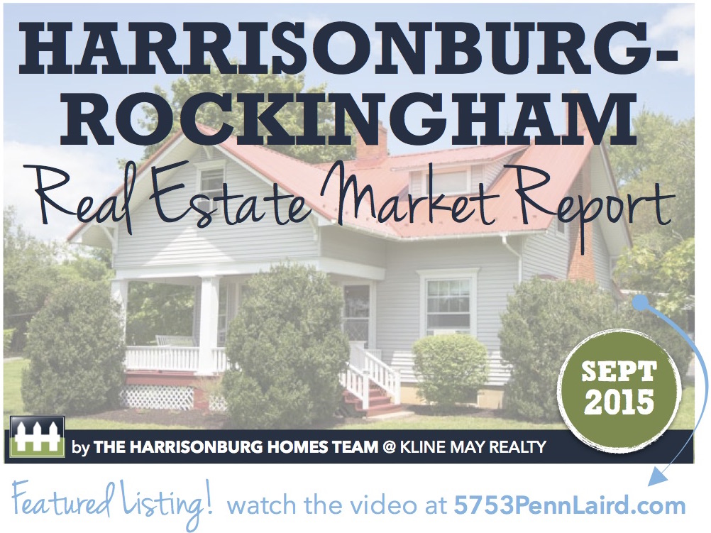 Harrisonburg Real Estate Market Report: September 2015 | The Harrisonburg Homes Team @ Kline May Realty