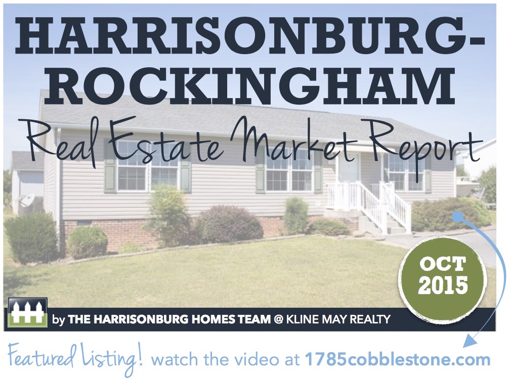 Harrisonburg Real Estate Market Report: October 2015 [INFOGRAPHIC]