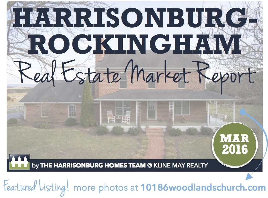 Harrisonburg Real Estate Market Report [INFOGRAPHIC]: March 2016 | The Harrisonburg Homes Team