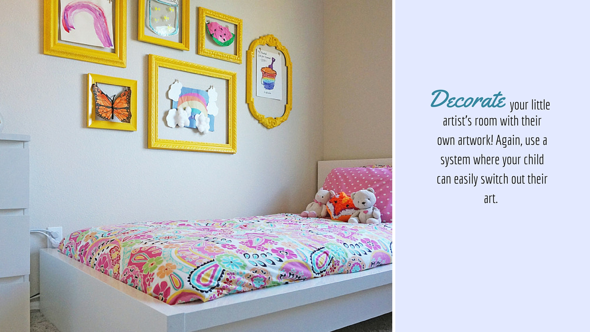 Decorate child's room