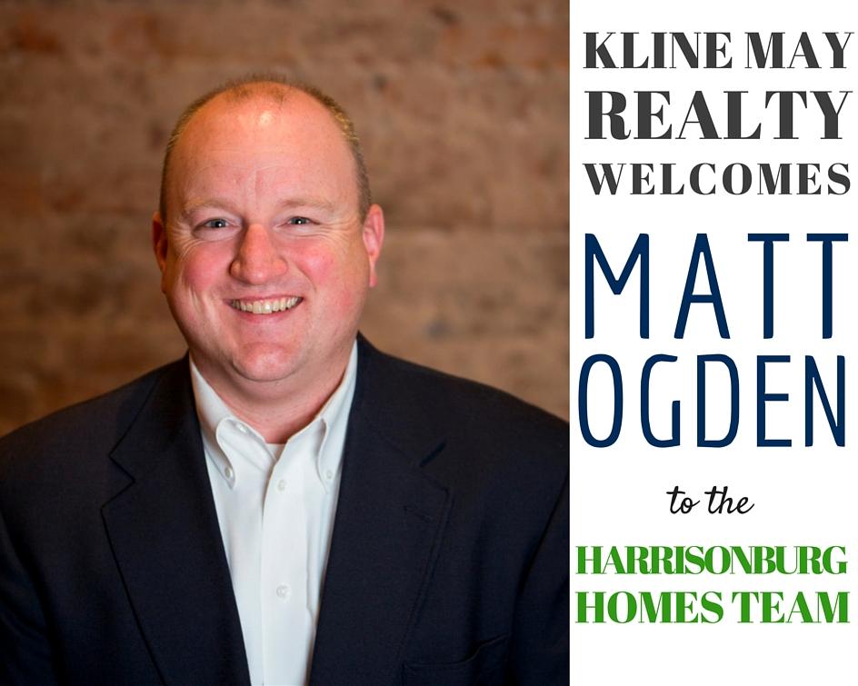 Matt Ogden Joins The Harrisonburg Homes Team @ Kline May Realty   Harrisonblog