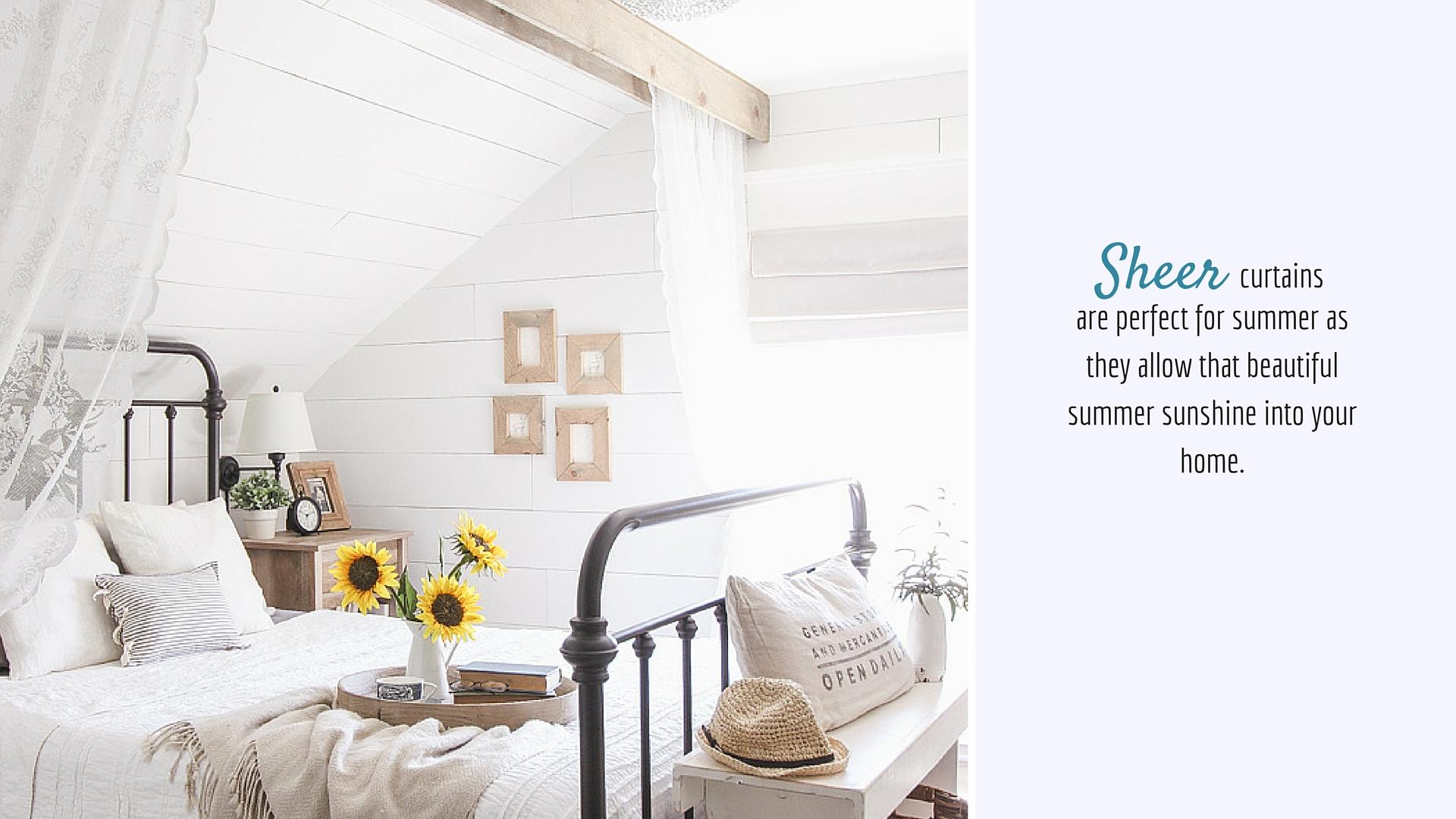 Decorating for Summer | The Design Corner