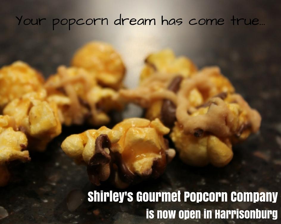 Shirley's Gourmet Popcorn | Harrisonburg
