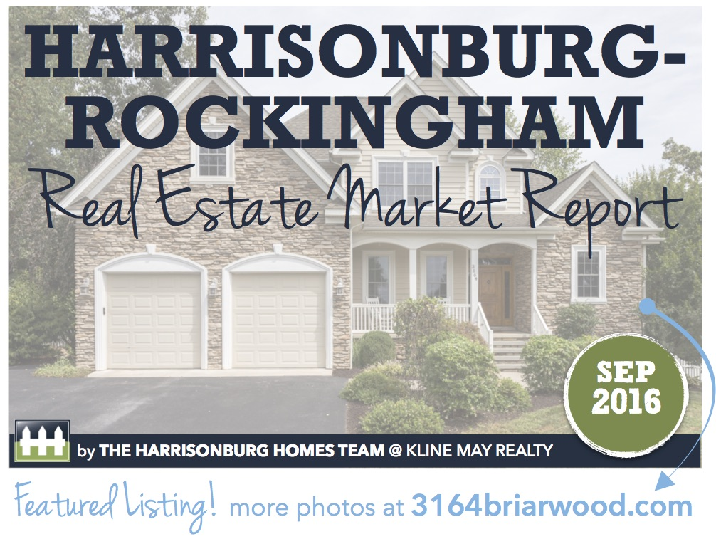 Harrisonburg Real Estate Market Report [INFOGRAPHIC]: September 2016 | Harrisonblog