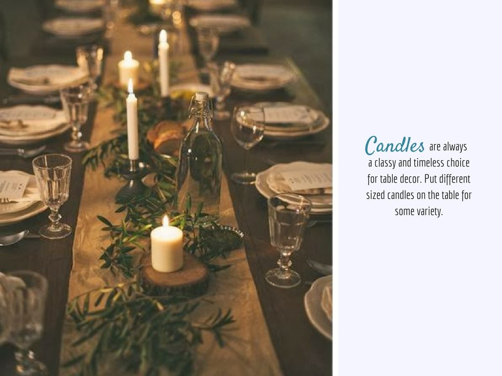 The Design Corner | Table Settings