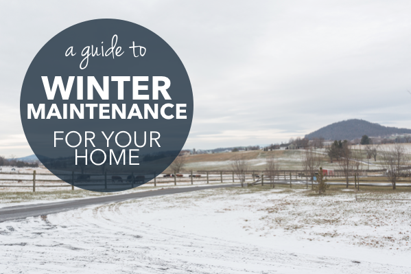Winter Home Maintenance Guide | Harrisonblog