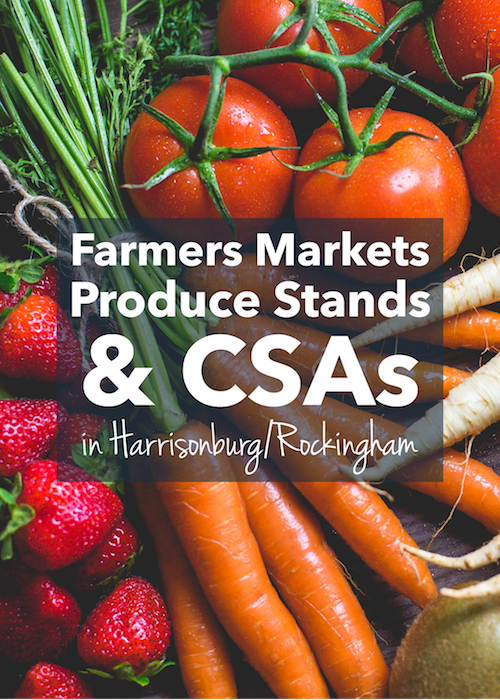 Farmers Markets, Produce Stands & CSAs in Harrisonburg, Virginia | Harrisonblog
