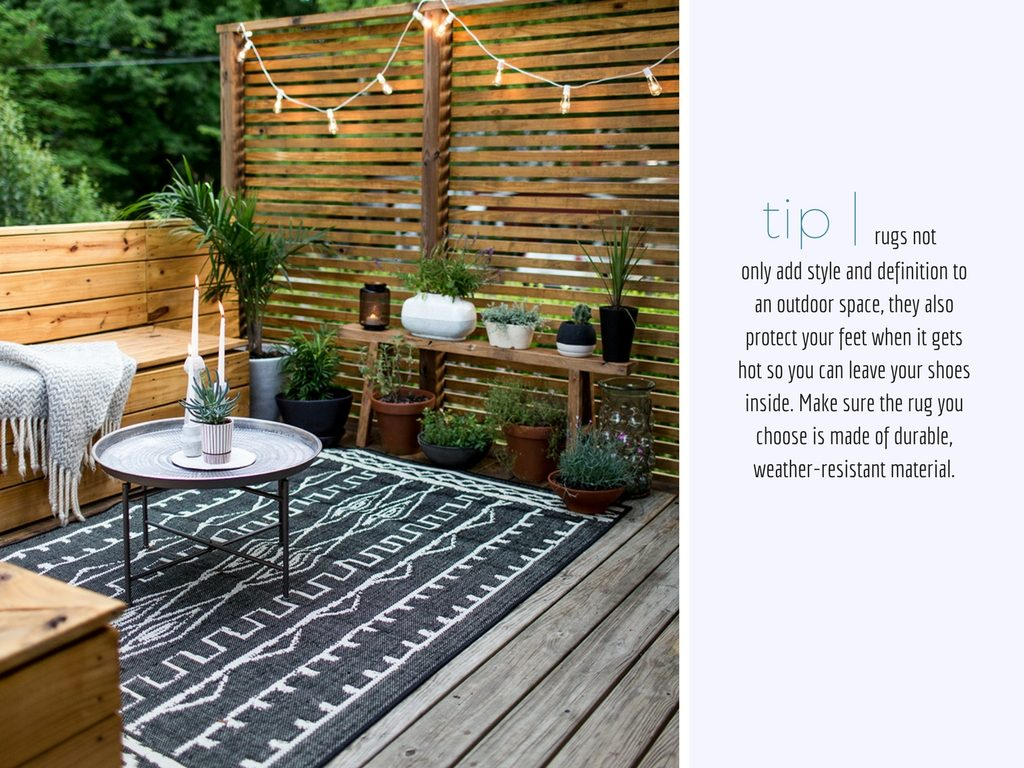 The Design Corner | Outdoor Living