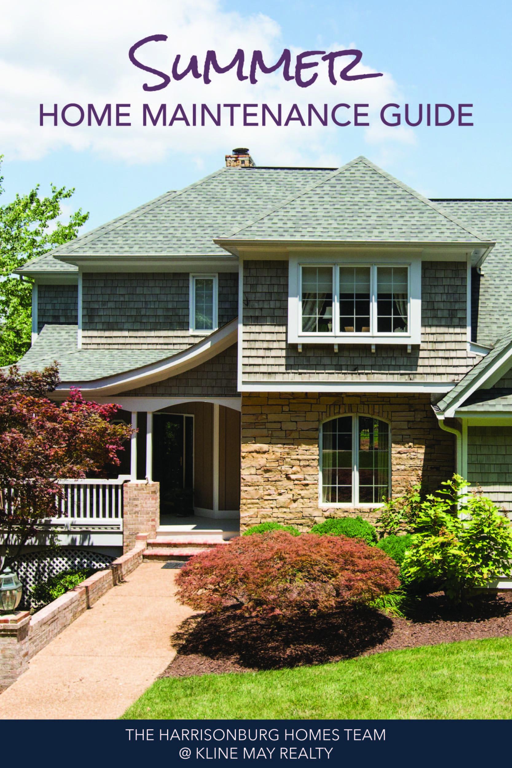 Summer Home Maintenance Tasks_Summer Home Maintenance Guide   Harrisonblog