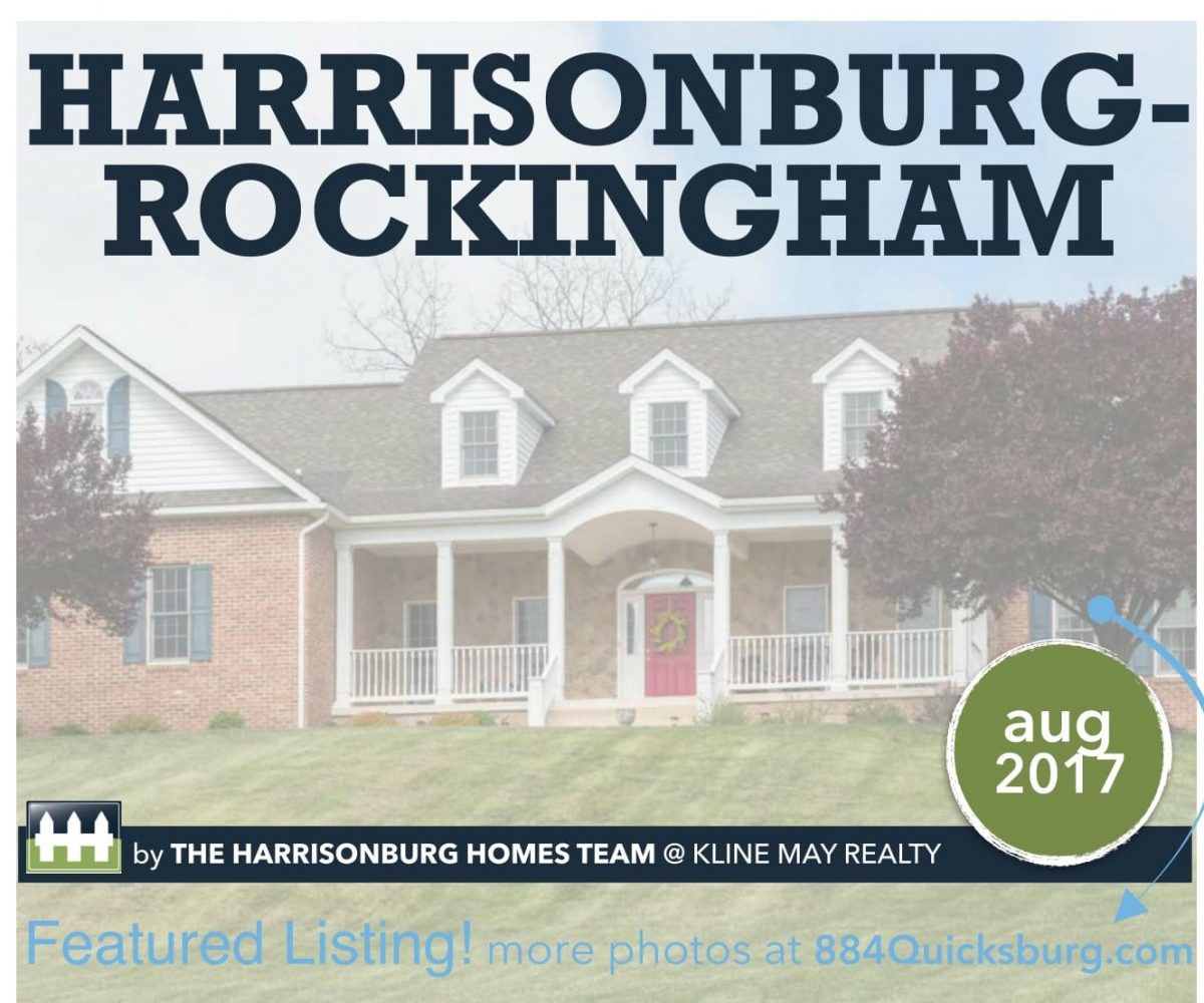 Market Report August 2017 | The Harrisonburg Homes Team