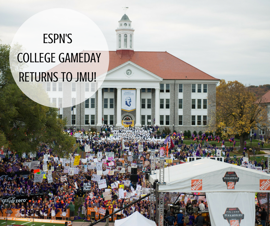 College GameDay Returns to JMU | Harrisonblog.com