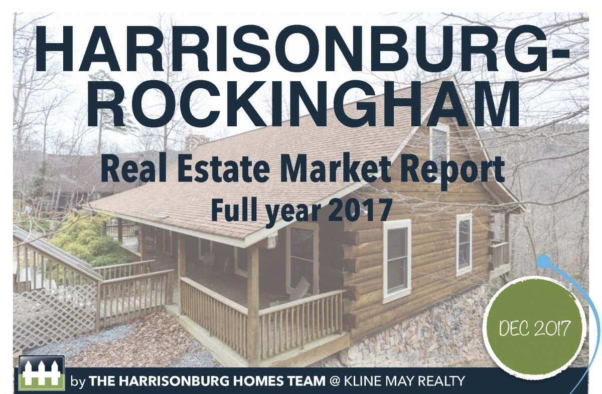 YEAR END 2017 Market Infographic | Harrisonburg Homes Team