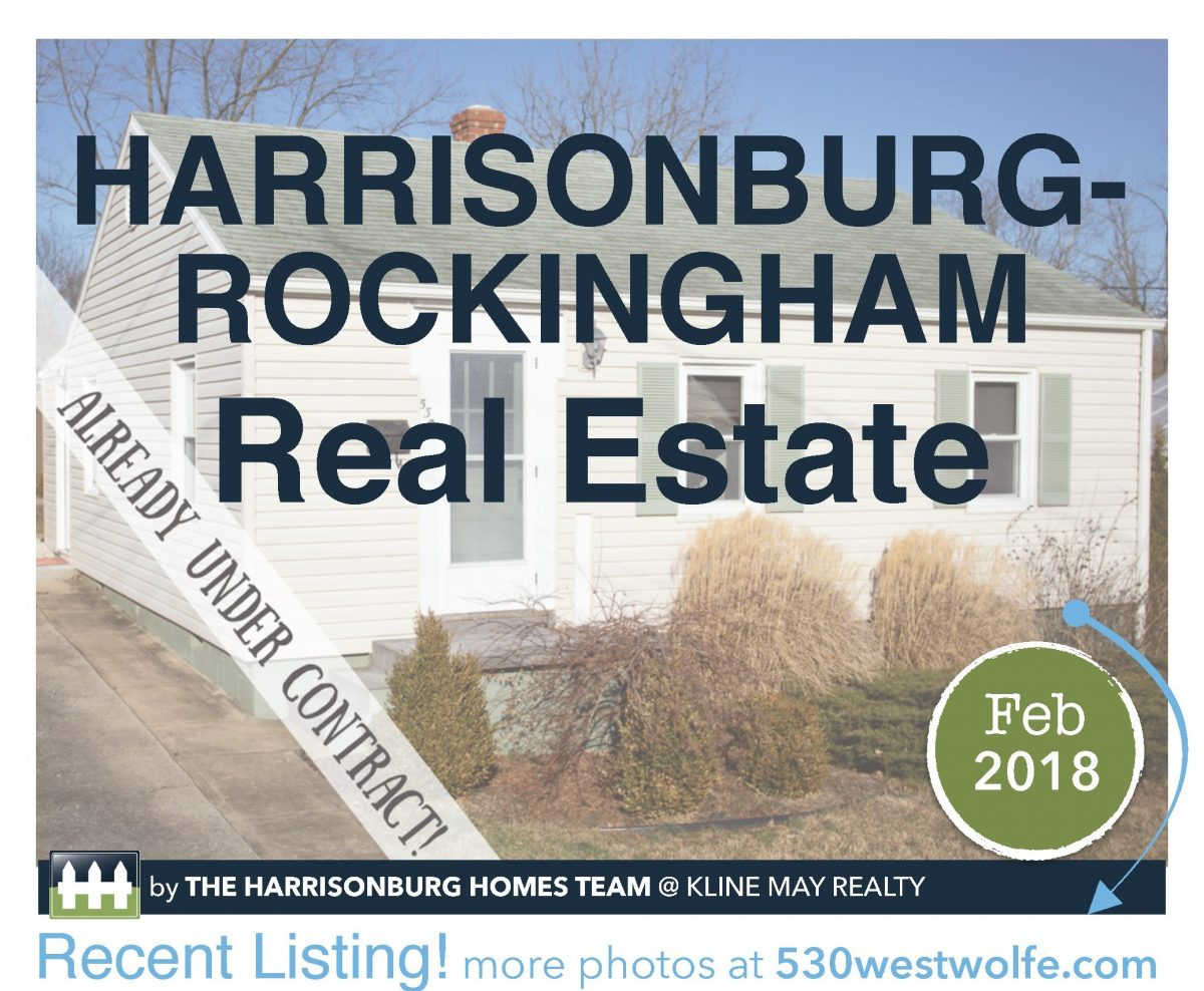 Market Report February 2018 | Harrisonburg Homes Team
