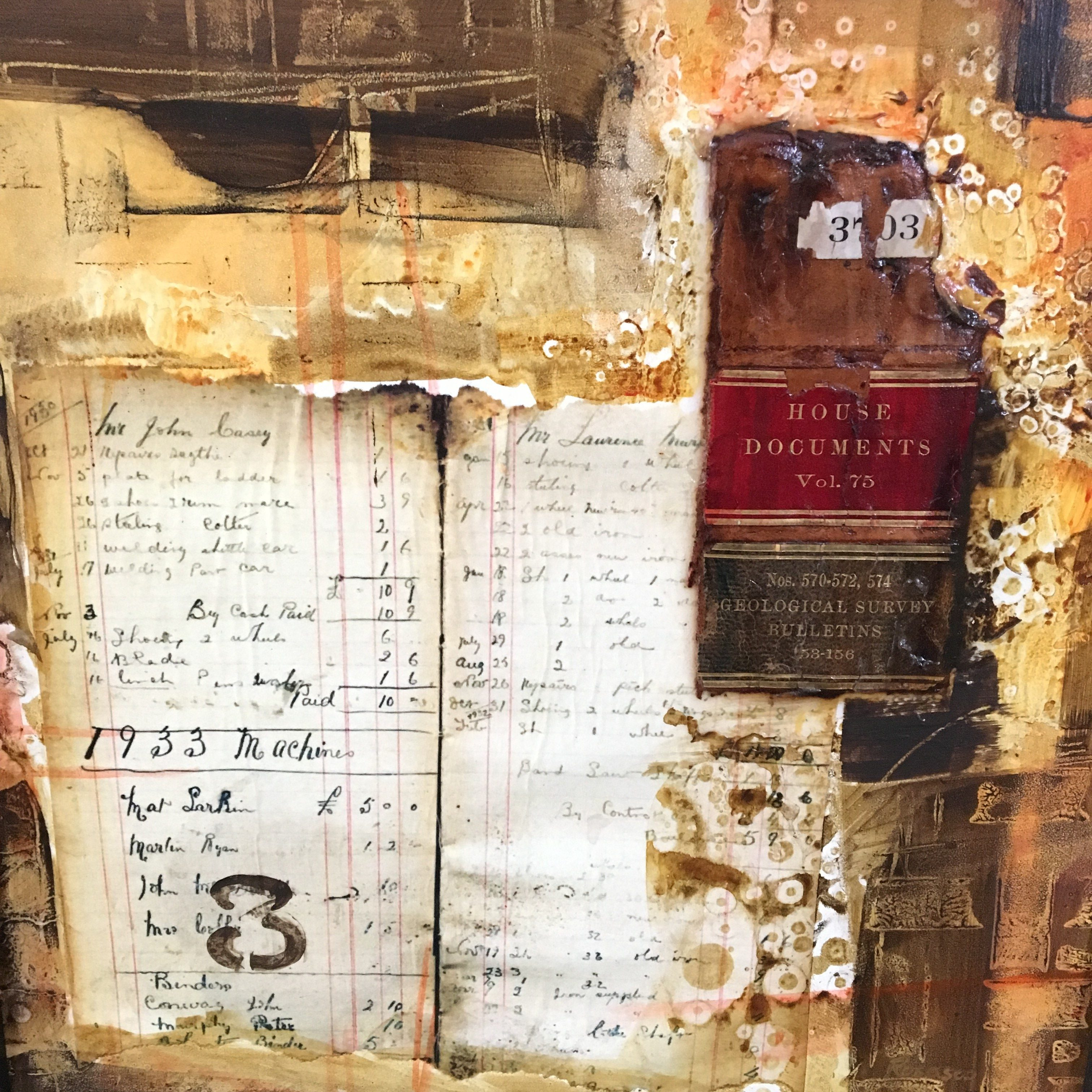 The Old Ledger | Wilson Downtown Gallery