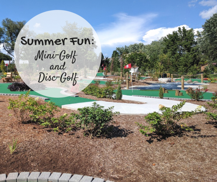 Mini-golf and Disc-golf | Harrisonblog.com