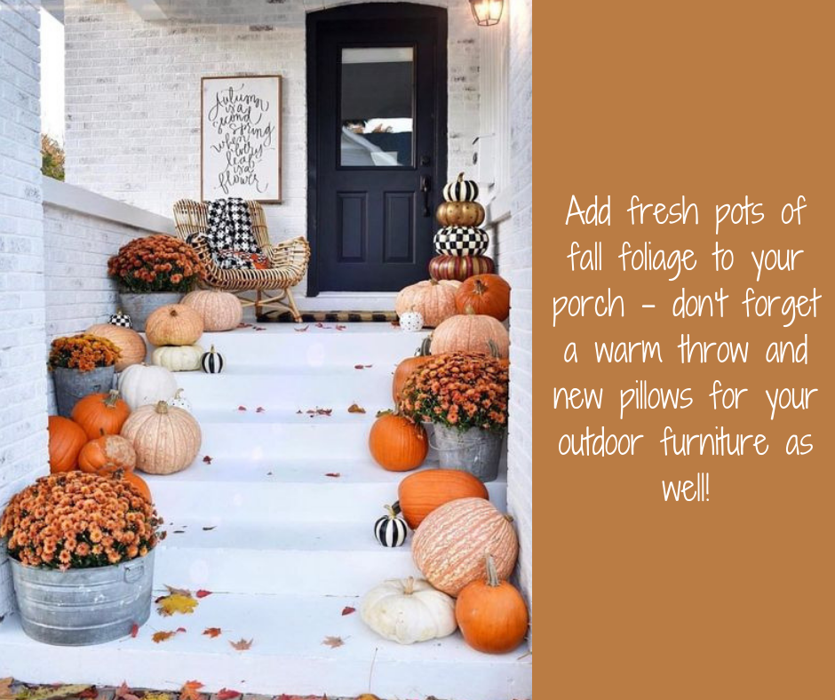 Fall decorations | Harrisonblog.com
