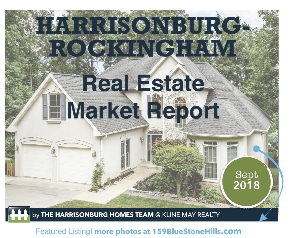Market Infographic Sept18 | Harrisonburg Homes Team