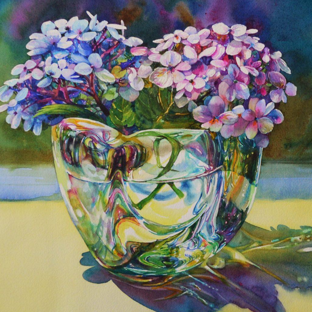 Hydrangeas Brenda Hounshell